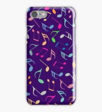 Music Colorful Notes III iPhone Case/Skin