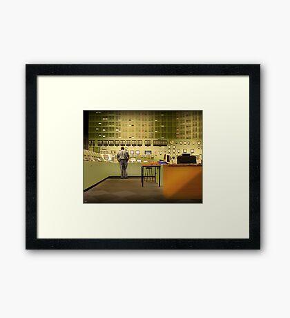 Bruno's Office Framed Print