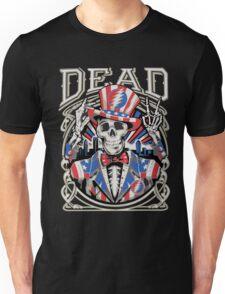 Grateful Dead - America Skeleton Peace Unisex T-Shirt