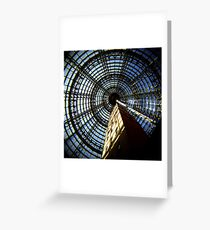Concentricity Greeting Card