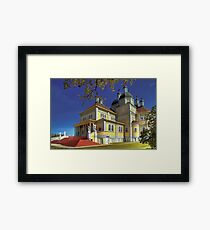 Cathedral of the Prairies Framed Print