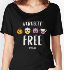 Vegan T-Shirt for Vegans and Vegetarians #crueltyfree Women's Relaxed Fit T-Shirt
