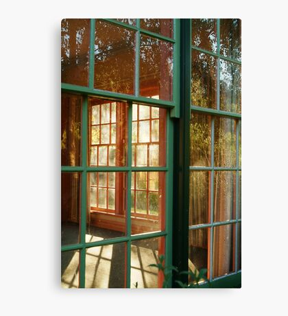 Cottage Windows,Cobin Farm Geelong Canvas Print