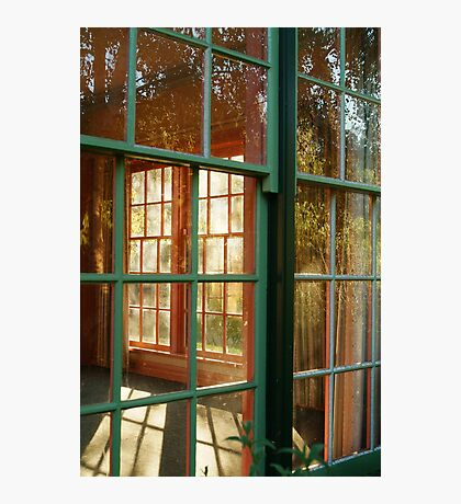 Cottage Windows,Cobin Farm Geelong Photographic Print
