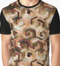 Pattern Factory 23B beige Graphic T-Shirt