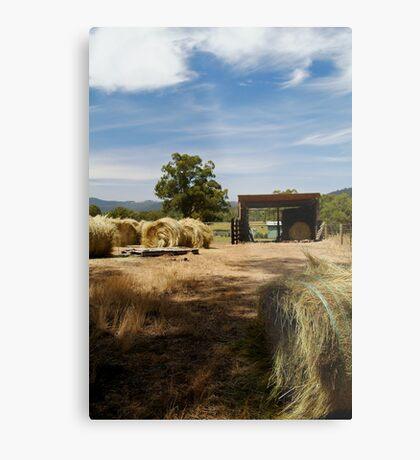 Farm Yard Metal Print