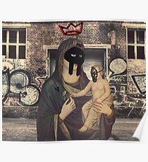 MF DOOM Mask Hip Hop Graffiti Madlib Dilla NYC Poster