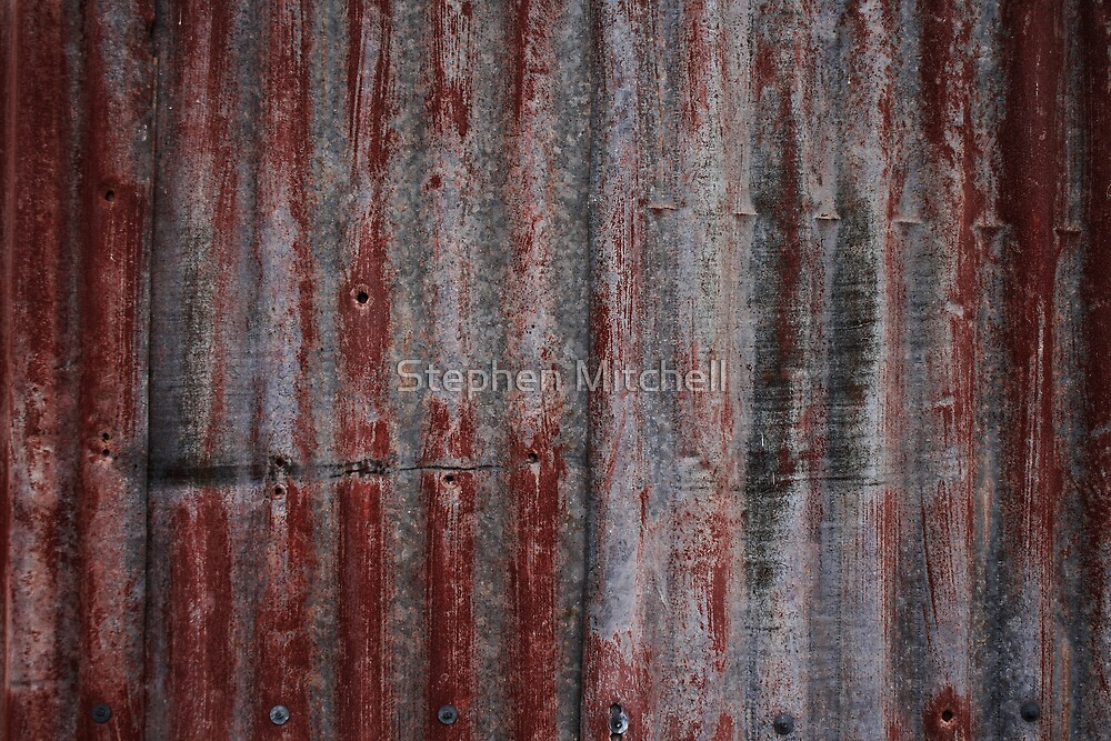Rusted Red by Stephen Mitchell