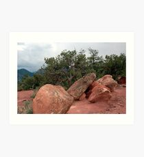 The Red Of Colorado Art Print