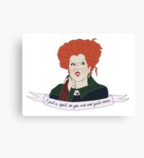 Love Winnie Canvas Print