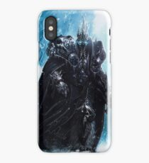 The Lich King in Icecrown iPhone Case/Skin