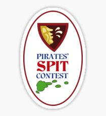 MONKEY ISLAND 2 - PIRATES SPIT CONTEST Sticker
