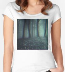 Dark forest Women's Fitted Scoop T-Shirt