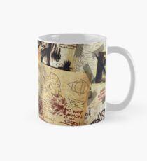Gravity Falls Journal Page Mesh Classic Mug