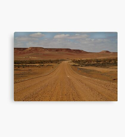 Oodnadatta Track,Ouback South Australia Canvas Print