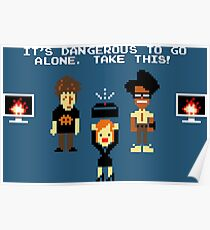 THE IT CROWD QUOTES Poster