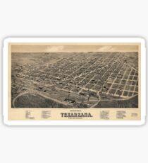 Texarcana 1888 Sticker