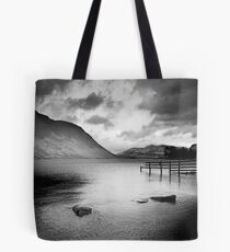 Bleak Lake Tote Bag