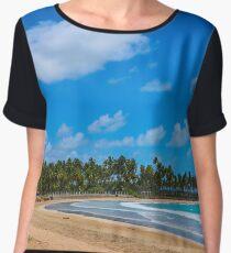 Beach Women's Chiffon Top