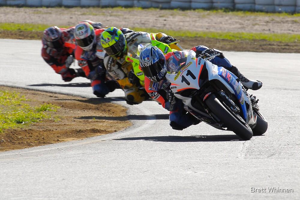 Synchronized - Superbikes by Brett Whinnen
