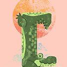 Yoga Croc by fluffymafi