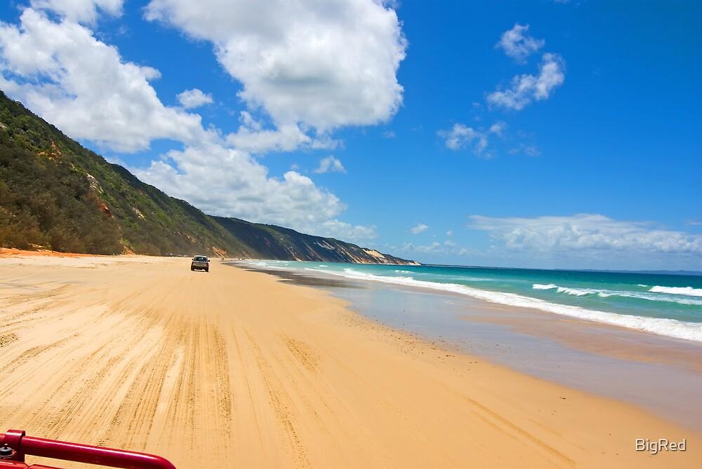 Beach Run by BigRed