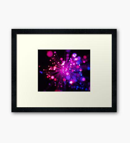 Birthday Sparkles Framed Print