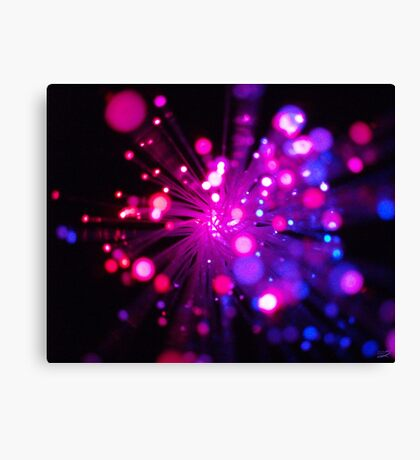 Birthday Sparkles Canvas Print