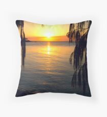 Sheoak Sunset Throw Pillow