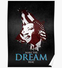 Martin Luther King, Jr. (flag) Poster