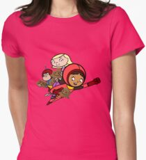 wordgirl Womens Fitted T-Shirt