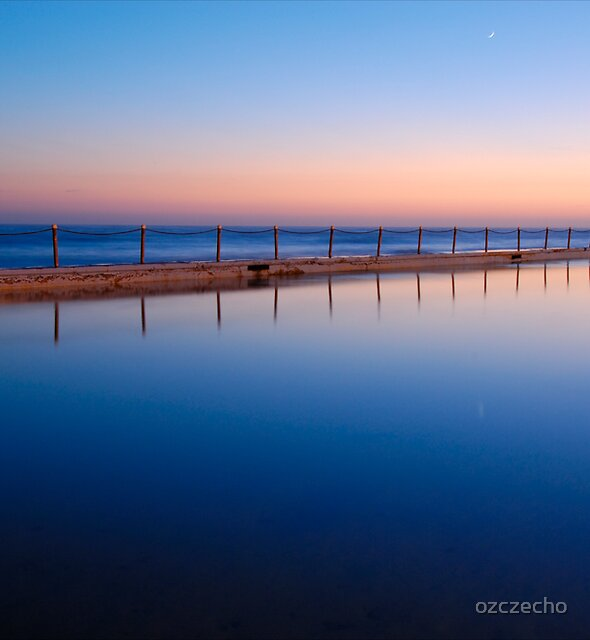 Morning Pool by ozczecho