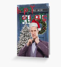 Dr. Eleventh Xmas Greeting Card