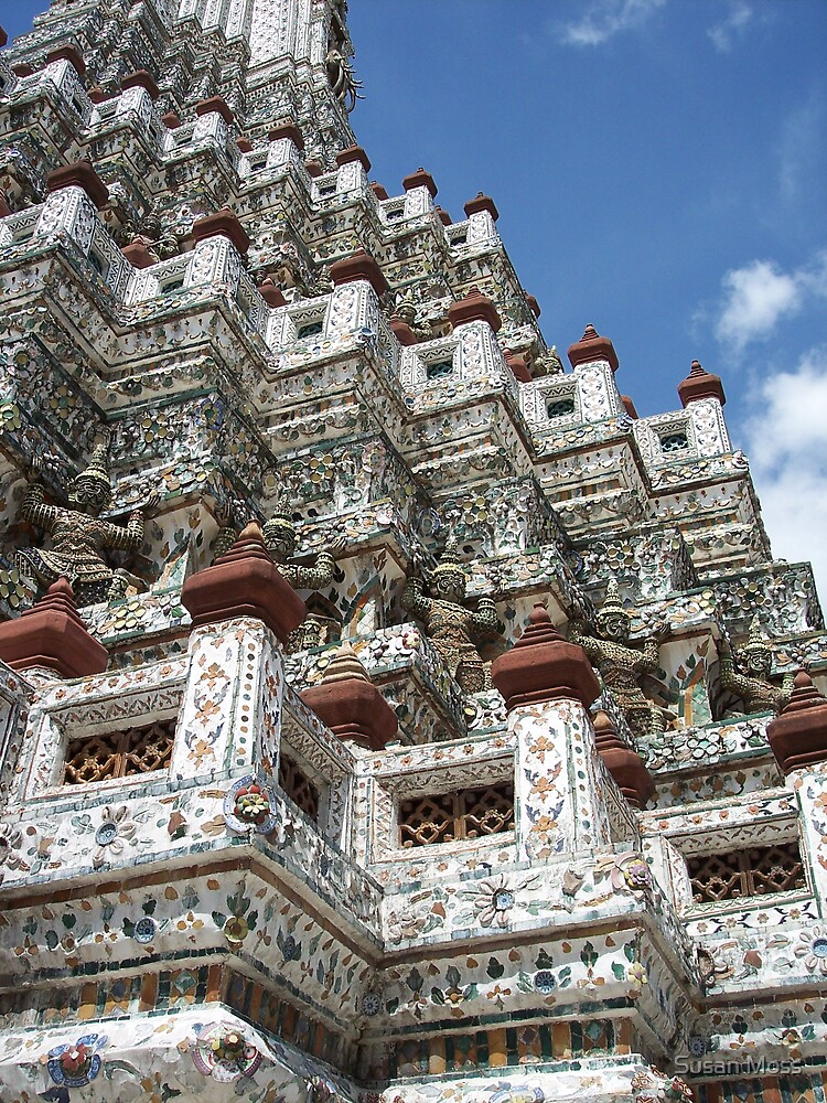 Bangkok,Temple, Thailand by Susan Moss