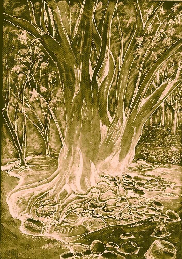 Bronze Fig Tree by RobMehigan