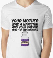 Your Mother Was a Hamster Men's V-Neck T-Shirt