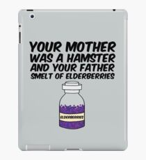 Your Mother Was a Hamster iPad Case/Skin