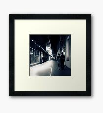 Lovers lane Framed Print