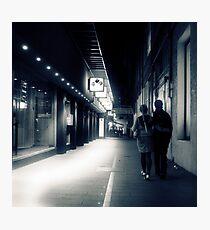 Lovers lane Photographic Print