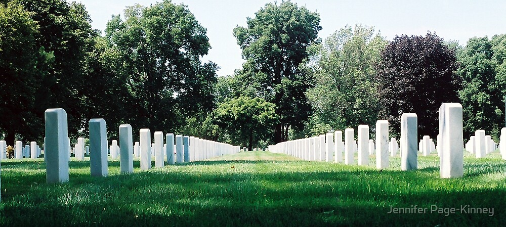 The Fallen are Never Forgotten  by Jennifer Page-Kinney
