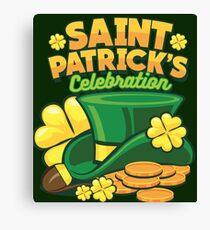 Saint Patrick Celebration Canvas Print