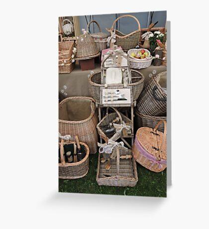 Pick Your Picnic Basket Greeting Card