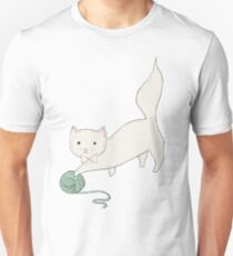 Cat with Yarn Unisex T-Shirt