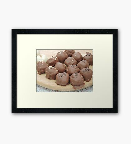 Chocomallows Framed Print