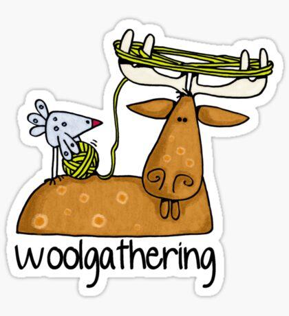 Woolgathering Sticker