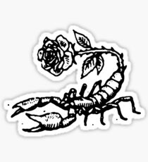 Rose Scoprion Sticker