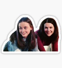 Lorelai and Rory Sticker