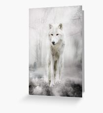 Wolf Artwork - GHOST Greeting Card