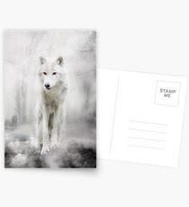 Wolf Artwork - GHOST Postcards