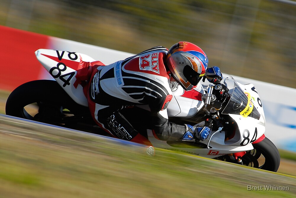 Mick Kelly - Supersport by Brett Whinnen